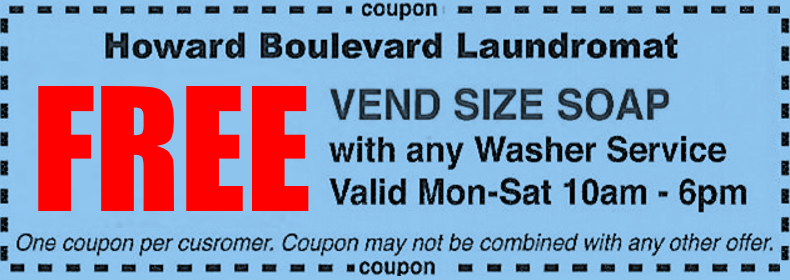 howard boulevard laundromat coupon 2